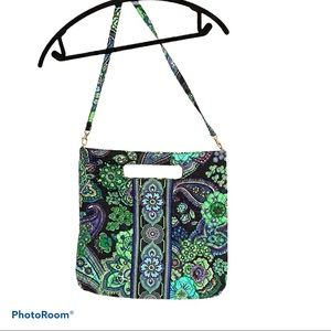 Retired Vera Bradley Blue Rhapsody Holiday Tote